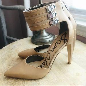 Sam Edelman heel with ankle strap